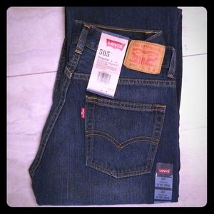 Levi's 505 Regular Sz 16 boys jeans